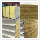Pcgi Galvanized Steel Rock Wool Sandwich Panels for Partition Panel