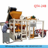 Medium Size Semi Automatic Concrete Solid Block Machine