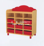 Children Furniture of Wooden Toys Storage Cabinet Sf-20W