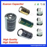 SMD Radial Snap-in Conductive Aluminum Electrolytic Capacitor