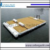 Aqua Floating Pontoon Dock Swim Platform Inflatable Floating Dock