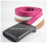 Wholesale Custom Logo Elastic Polyester Fabric Woven Belt