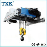 12.5 Ton 6m Low Headroom Single Girder Wire Rope Hoist