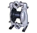Sewage Treatment 3 Inch Stainless Steel Pneumatic Air Operated Diaphragm Pump