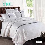 Yrf Cheap Price Hotel Linen Top Grade Turkey Cotton Quilt Set Plain Color Duvet Cover