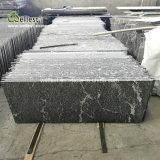 Snow Grey Granite Flamed Finish for Flooring and Walling Granite Tile Paver Exterior