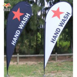 Advertising Flag Durable Flying Stand Custom Feather Flag Banners