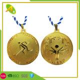 High Quality OEM Customized Cheap Souvenir Gold Silver Military Police Medal Masonic Race Metal Medallion for Sports Marathon Running Award (355)