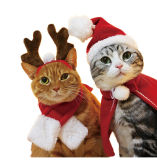 High Quality Fashion Cute Pet Christmas Costume/Christmas Pet Clothes