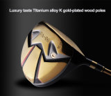 Customized Shiny Gold Color Mirror Artwork Golf Club Stainless Steel Forged Golf Wedge
