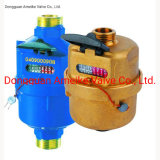 Factory Supplier ISO4064 Class C Volumetric Piston Brass Water Meter