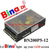 5V40A 200W Classic Power Supply for Single or Double Colors LED Screen, Billboards, Scoreboards