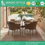 Patio Dining Set with Cushion Outdoor Dining Chair Garden Coffee Table Rattan Wicker Chair Club Wicker Chair (Angus dining set)