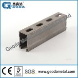 Hot Dipped Galvanized Steel Slotted Unistrut Channel