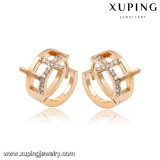 Imitation Fashion Diamond Hoop Earring Jewelry