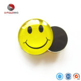 2018 Hot Sale Smile Face Glass Round Fridge Magnet