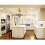 Modern American Style Solid Wood Kitchen Cabinets in Painted Finish