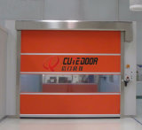Stainless Steel Door Frame High Speed PVC Rolling Shutter Door
