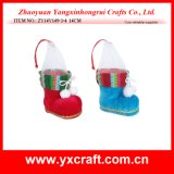 Christmas Decoration (ZY14Y149-3-4) Christmas Colorful Boot Custom Gift