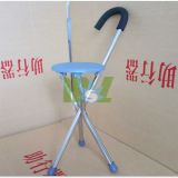 Aluminum Folding Cane with Seat (MSLAC03)