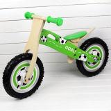 Football Design Good Quality Wooden Balance Bike