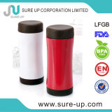 White and Red Heat Transfer Stainless Steel Thermos Mug (MSUF) (MSUF003P)