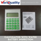 Calculator with Water Battery Quality Control Inspection Service at Putian, Fujian