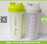 600ml Sports Protein Nutrition Shaker Drinking Bottle