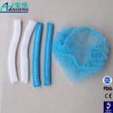 China Wholesale Crimped Disposable Caps White or Blue