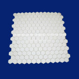 Chemshun Alumina Mosaic with Hexagon Tile Used in Power Generation