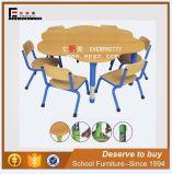 Kindergarten Furniture Children School Desk and Chair (SF-24K)