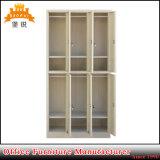 6 Door Steel Clothes Storage Metal Gym Locker