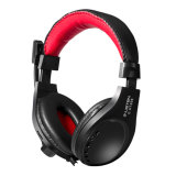 Fashion Good Price Wired Gaming Headphone with Scroll Wheel Control for E-Sports