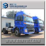 270HP Cheap Foton Auman 4X2 Container Trailer Tractor Head Truck