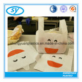 Cheap Supermarket T-Shirt Plastic Shopping Bag with Costomized Logo