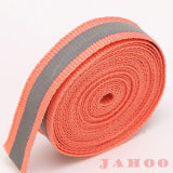 Custom Woven Polyester Tape Banding Reflective Webbing Tape for Garments