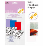 Double-Side DIY Sticker Flocking Transfer Kit for Card Making