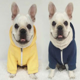 China Pet Dog Clothes Wholesale Fashionable Cute Smiley Clothes Pets Coat Dog Clothes with Hooded