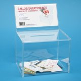 Wholesales Customers Acrylic Clear Bollot Box