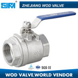 Two PC Stainless Steel Ball Valve
