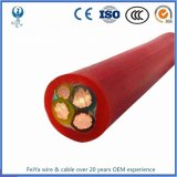 Flame Resistant 16mm2 25mm2 35mm2 50mm2 70mm2 Rubber Insulated Flexible Rubber Cable H07rn-F