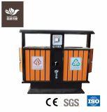 Garden furniture Eco-Friendly Durable WPC Outdoor Dustbin
