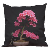 Nordic Rhododendron Potted Plants Pillow Cover