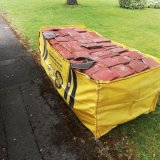 4 M3 Skip Bags for Junk Removel Garbage Disposal with Capacity 4400 Lbs