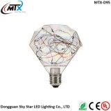 Lowest Price Christmas Festival Diamond Multi-color LED Decoration Bulb