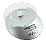 Mini Digital Weight Kitchen Room Scale with Clock