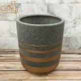 Decorated Red Clay Flower Pot Wholesale Price Different Colors