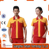 Custom Design Factory Staff Worker Uniform of Cotton
