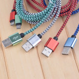 1m 1.5m 2m 3m Nylon Braided Android V8 for Samsung Type C Charging Data Micro USB Cable