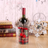 Christmas Gift Wine Bags Cover Wholesale Party Decoration Wine Bottle Cover Accessories